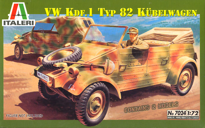Kubelwagen Review By Glen Porter Italeri 1 72