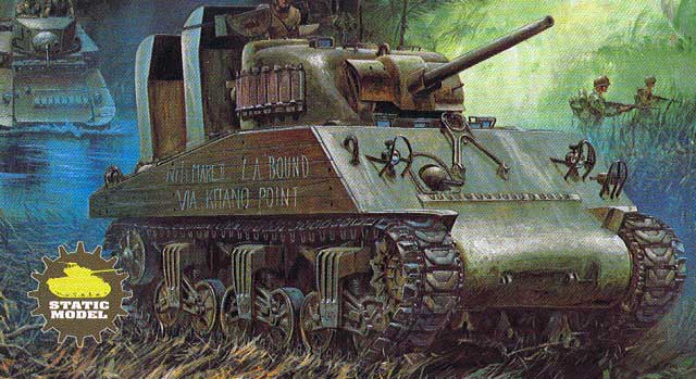 M4a2 Sherman Usmc Review By Cookie Sewell Academy 1 35