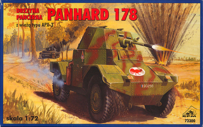 Panhard 178 Armoured Car Review By Glen Porter Rpm 1 72