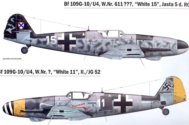Messerschmitt Bf 109G-10/U4 - Production and Operational Service Reviewed by