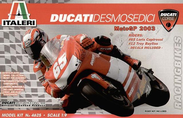 ducati desmosedici reviewandrew judson (italeri 1/9)