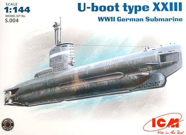type xxiii u boat review by glen porter (icm 1 144) German Type XXIII Submarine