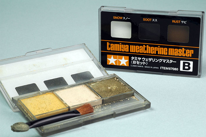 weathering master weathering pastels part a and b review by glen porter  tamiya